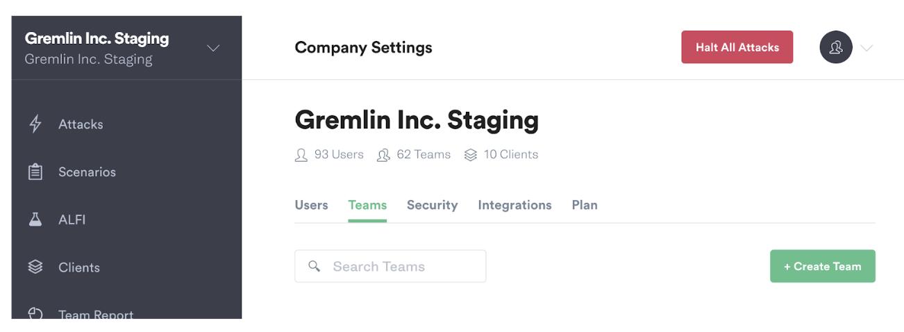 create gremlin team