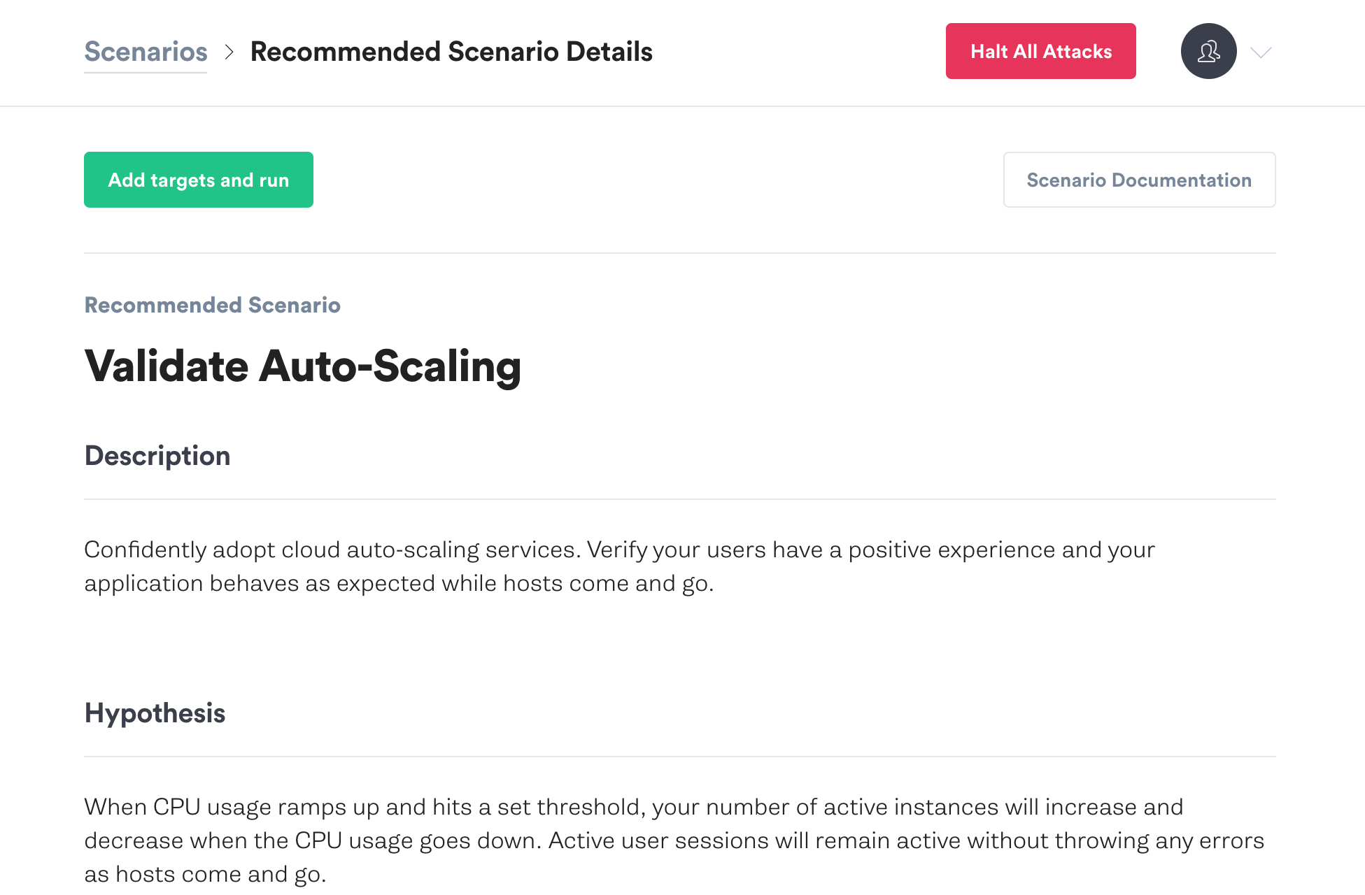 Validate Auto Scaling