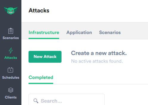 Attack Button