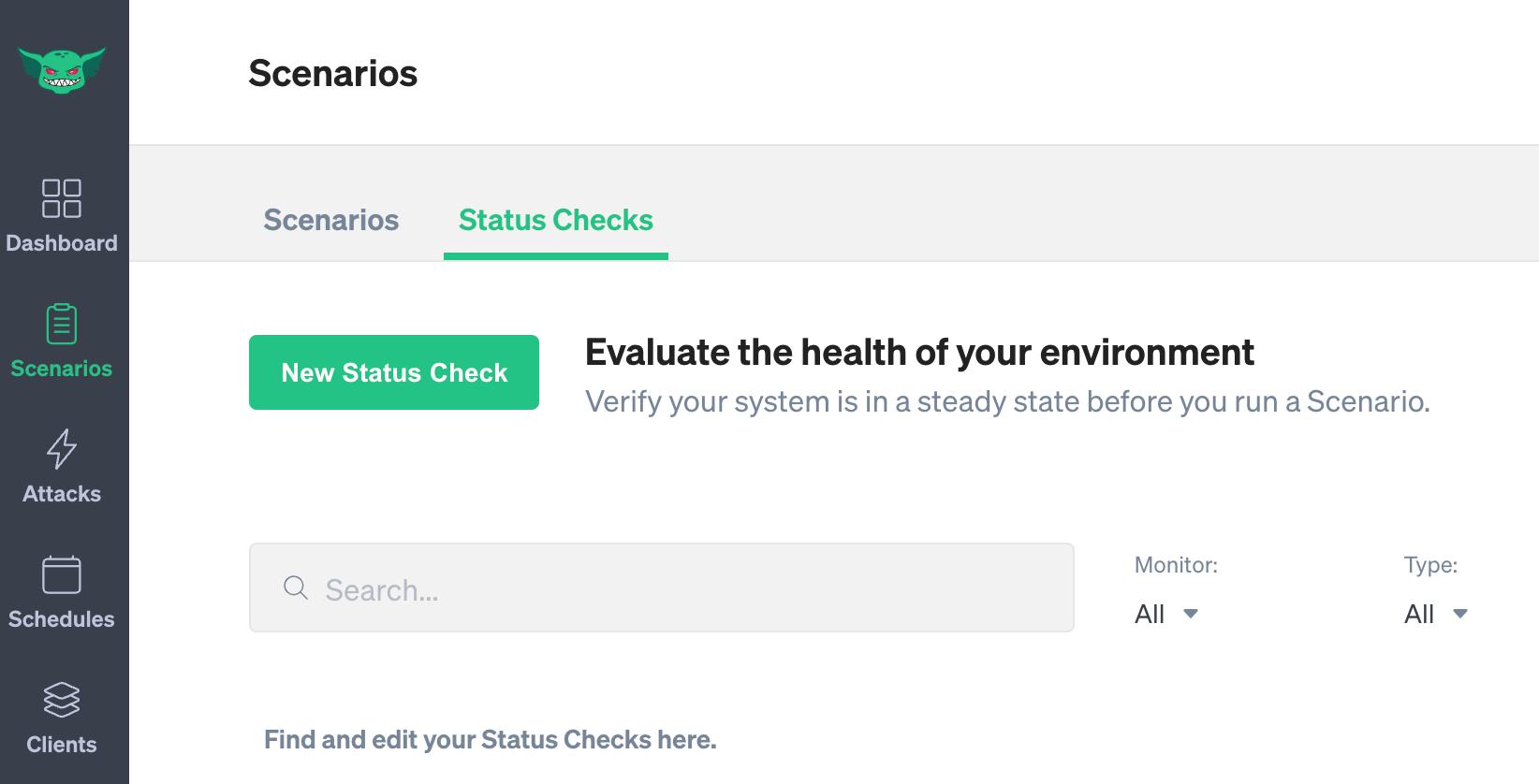 Status Check list
