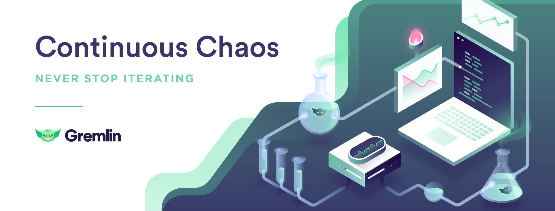 Continuous Chaos: Never Stop Iterating