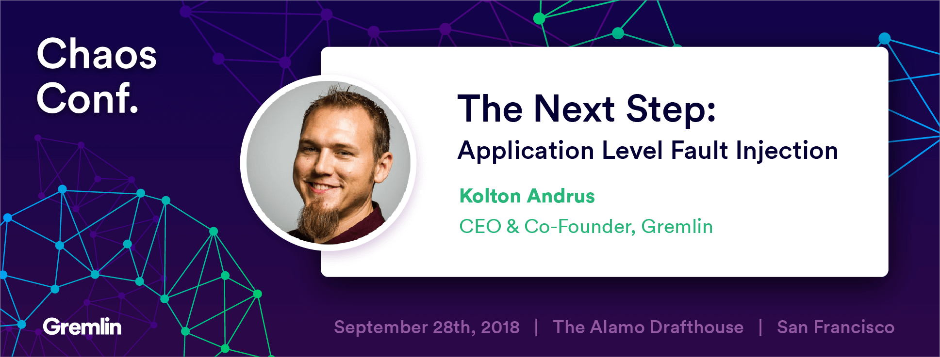"""Transcript: Kolton Andrus: """"The Next Step: Application Level Fault Injection"""" - Chaos Conf 2018"""