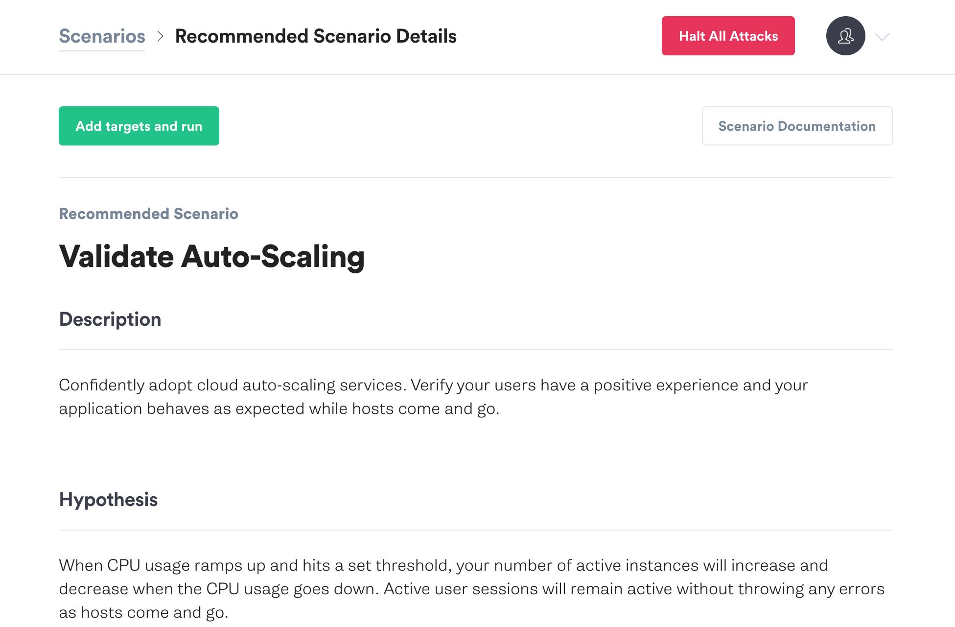Validate Auto Scaling