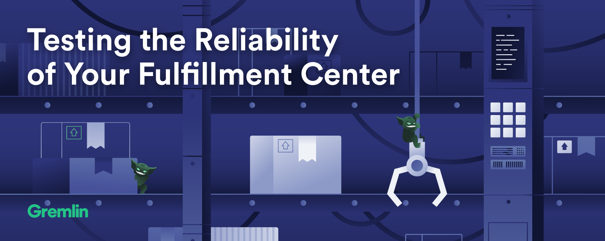 Testing the reliability of your fulfillment center