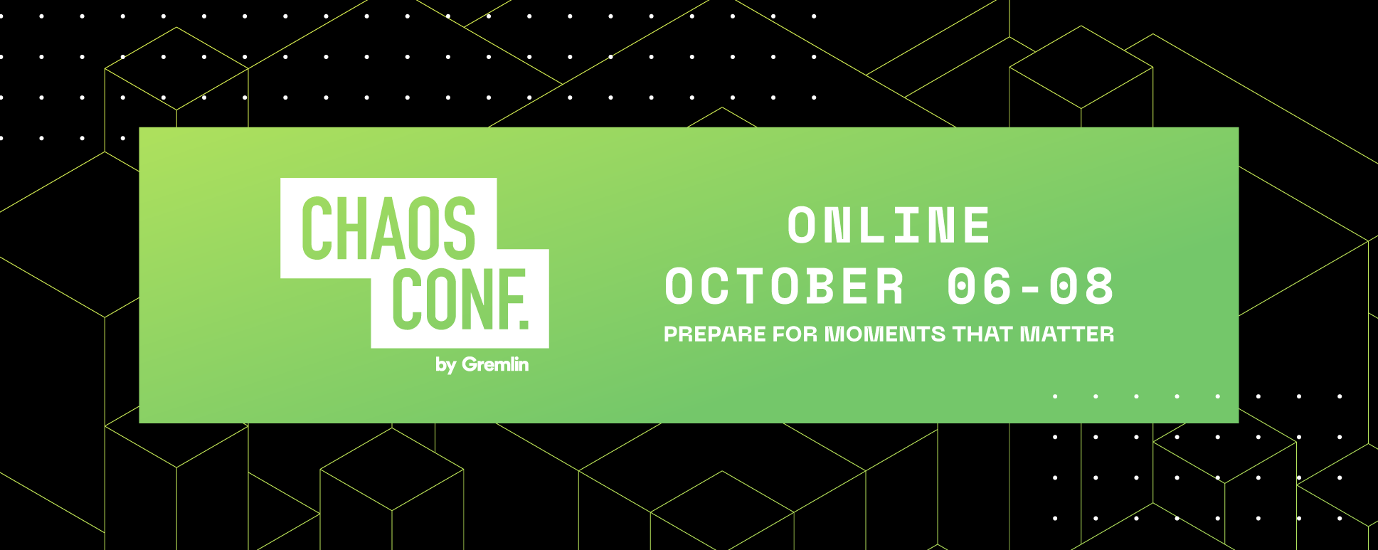 Announcing Chaos Conf 2020 (Online): Be Prepared For Moments That Matter
