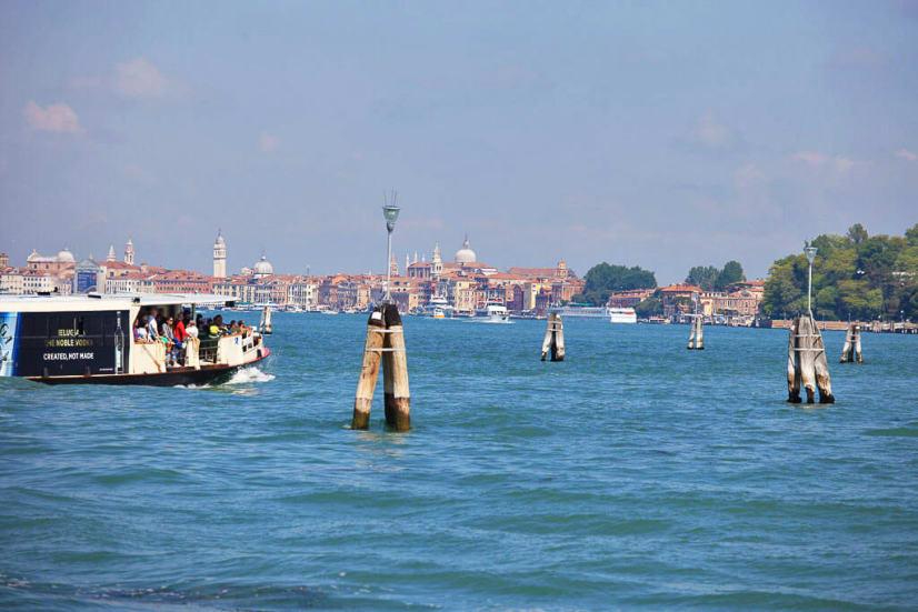Izlet v Benetke Beneška laguna