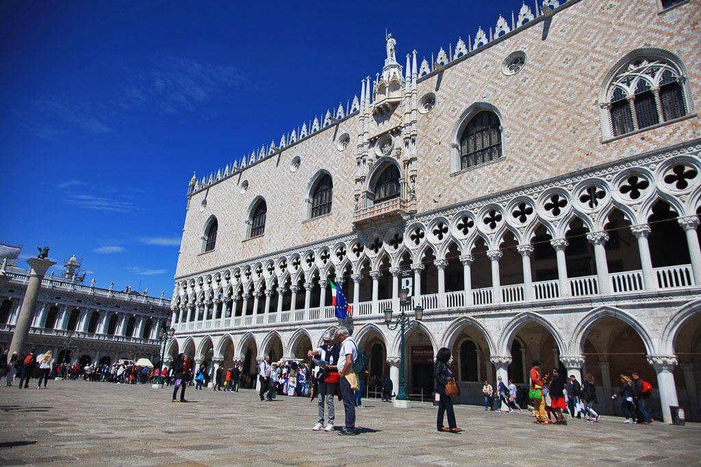 Izlet v Benetke Doževska palača