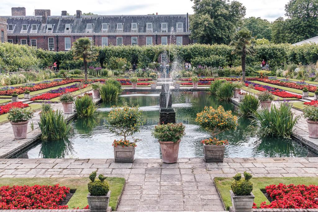 Sunken Garden Kensingtonska palača