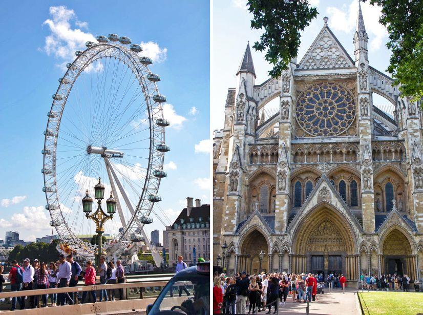 London Eye in Westminster Abbey
