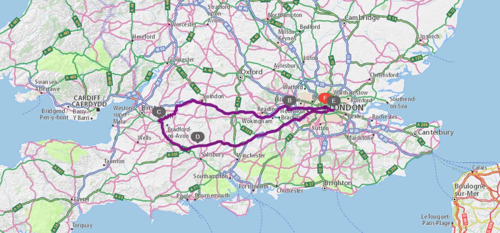 London Zemljevid