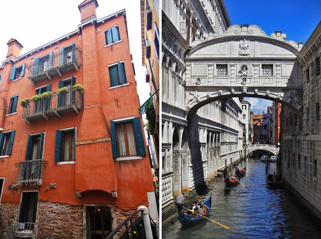 Izlet v Benetke Most vzdihljajev