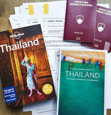 načrtovanje poti tajska