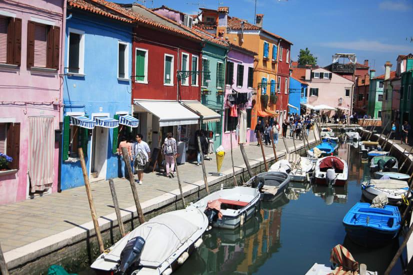 Izlet v Benetke otok Burano