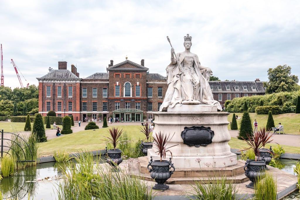 Kensingtonska palača London