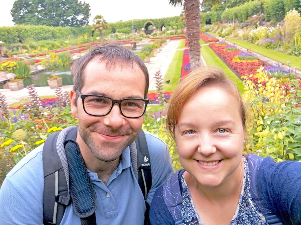 London Kensington Sunken Garden
