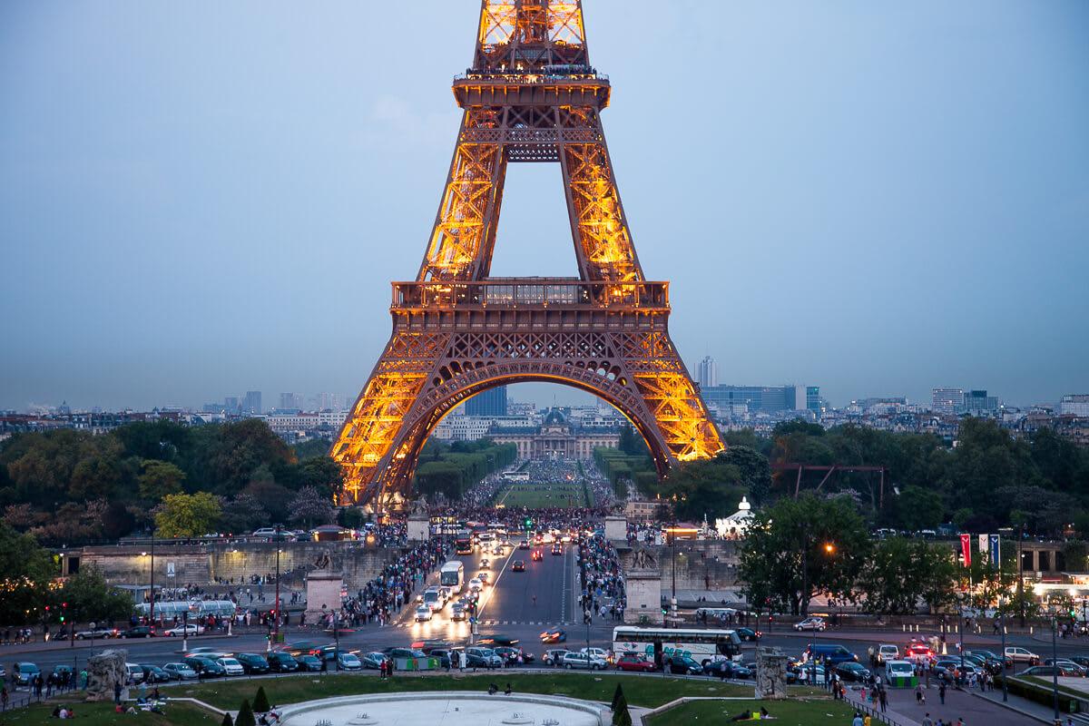 Pariz krompirjeve počitnice