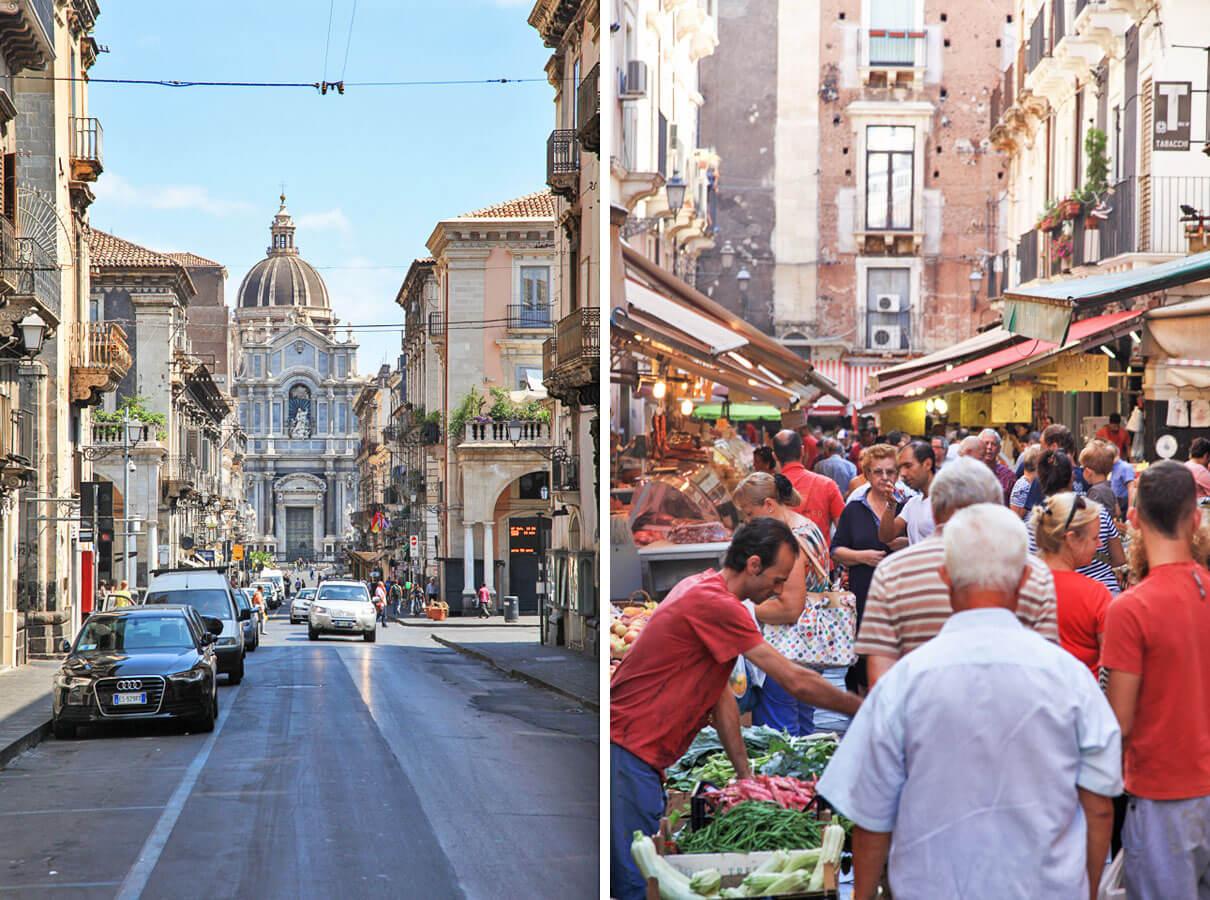 krompirjeve počitnice Sicilija