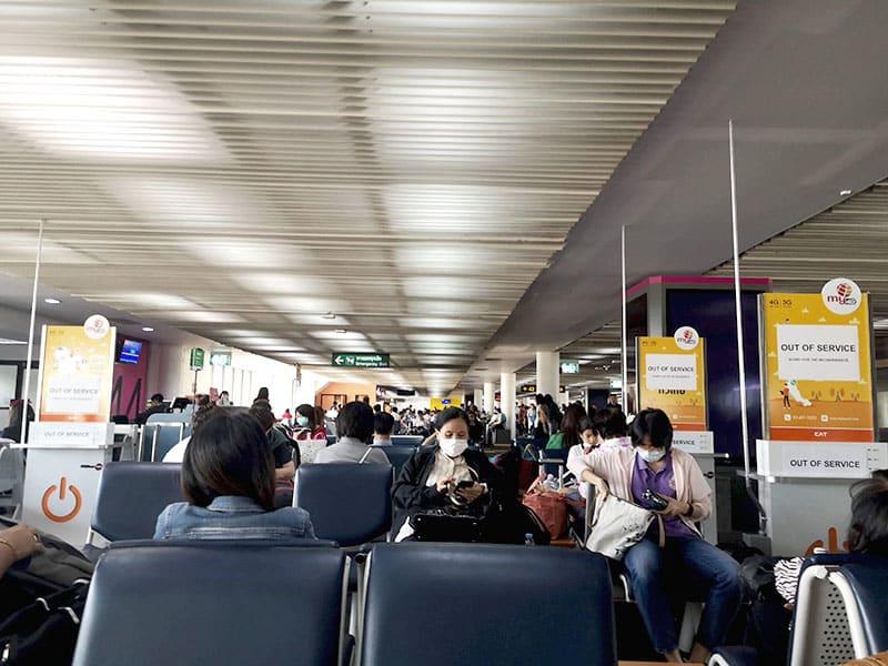 Tajska letališče Don Muang 01