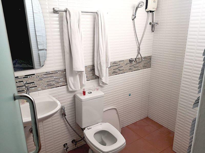 hotelska kopalnica Tajska Bangkok