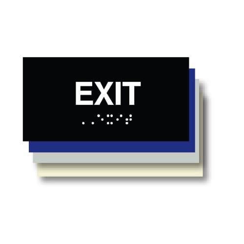 Exit ADA Plaque