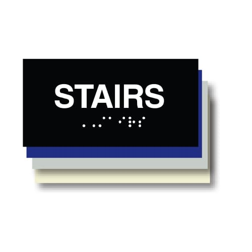 Stairs ADA Plaque