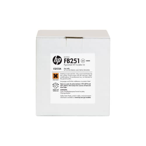 HP FB251 White Ink