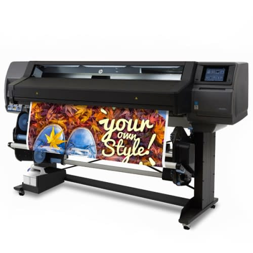 """HP Latex 560 Large Format Color Printer - 64"""", with efficient Spindleless System (M0E29A)"""
