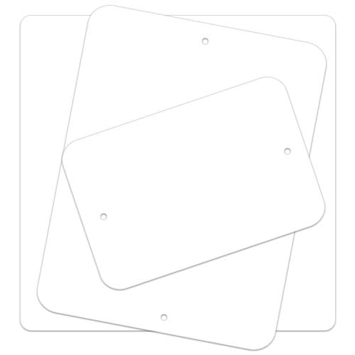 .040 Painted Aluminum Sign Blanks – Radius Corners