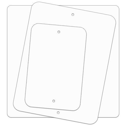 .063 Painted Aluminum Sign Blanks – Radius Corners