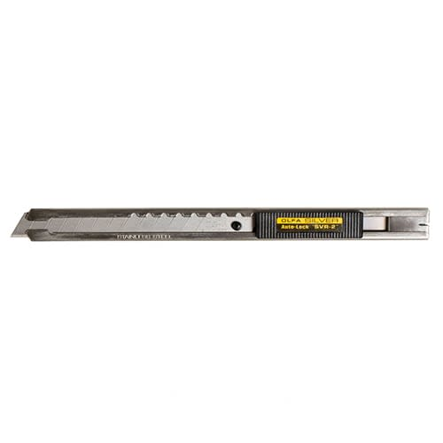 OLFA Stainless Steel Auto-Lock Utility Knife