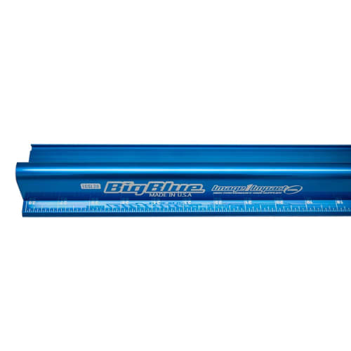 Big Blue Ruler