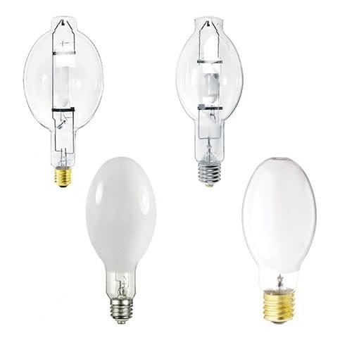 Sylvania Clear & Coated Metal Halide Lamps