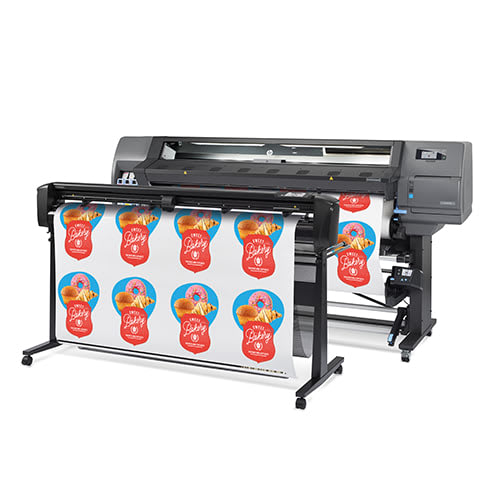 "HP Latex 335 Large Format Color Printer - 64"", True Print & Cut Solution (1LH37A)"
