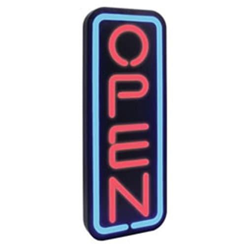 Vertical Open Sign