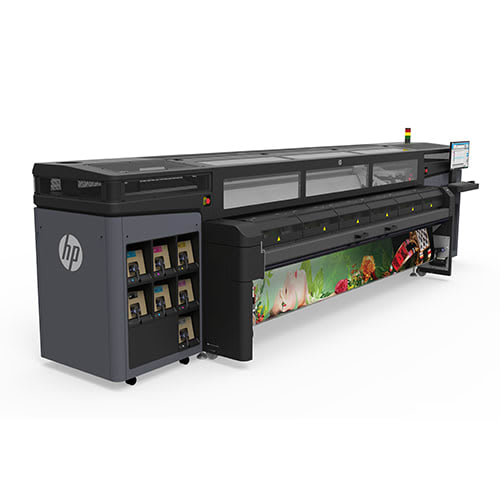 """HP Latex 1500 Large Format Production Printer - 126"""", with 5-Liter Ink Cartridges (K4T88A)"""