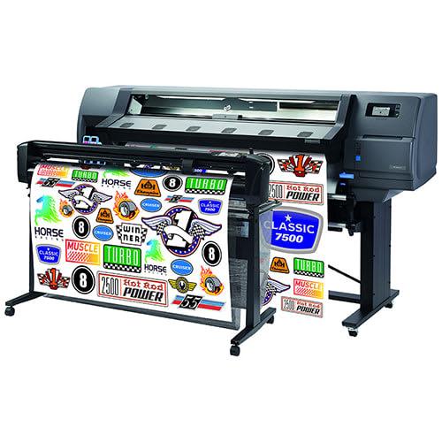 "HP Latex 115 Large Format Color Printer - 54"", True Print & Cut Solution (1LH39A)"