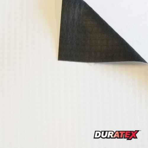 Duratex 13oz Black Back Banner