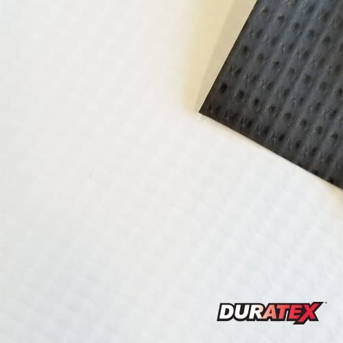 Duratex 8.8oz Black Back Banner