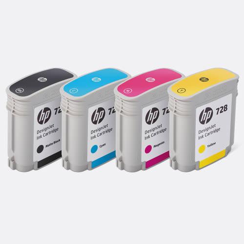 HP 728 DesignJet Inks