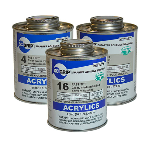 Acrylic Adhesives & Cements