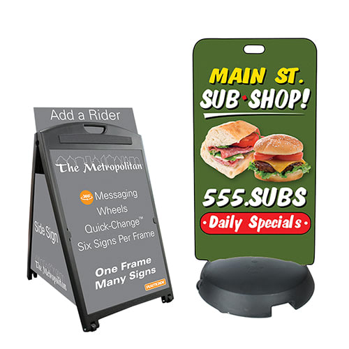 Exterior & Outdoor Sign Stands