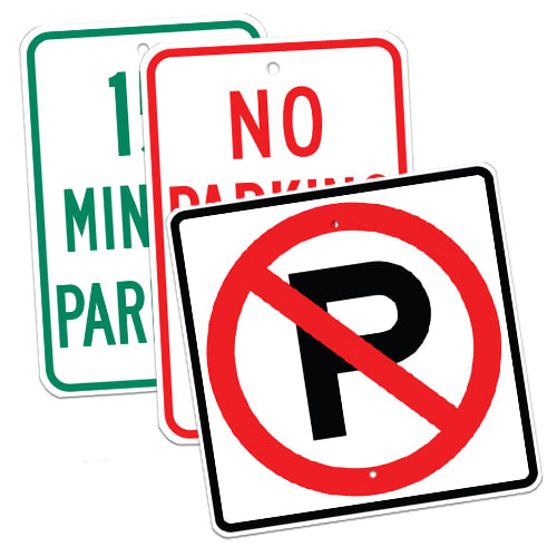 Traffic Control & Parking Signs