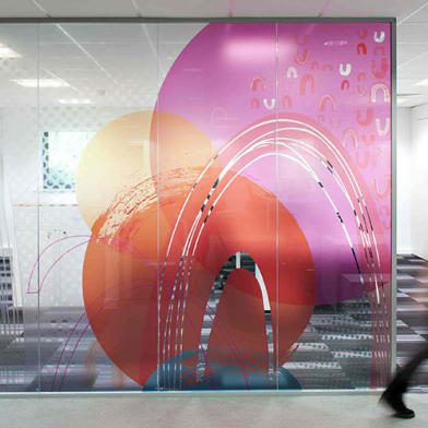 Lintec Optically Clear Window film - Permanent Adhesive
