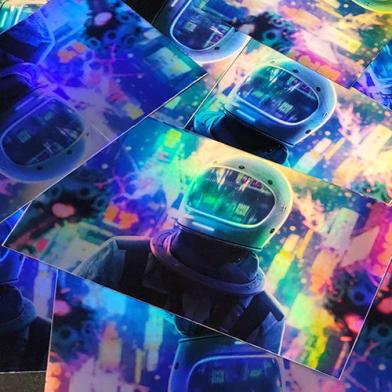Briteline Holographic Rainbow Film