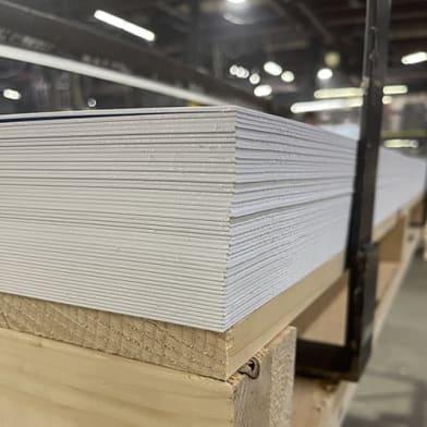 Duratex Polystyrene Sheets - Dead White
