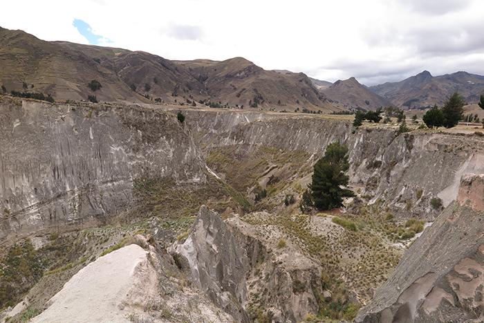 Mirador do Canyon do Rio Taochi