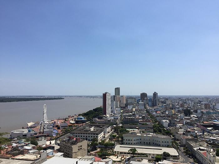 Vista da cidade desde o Cerro Santa Ana