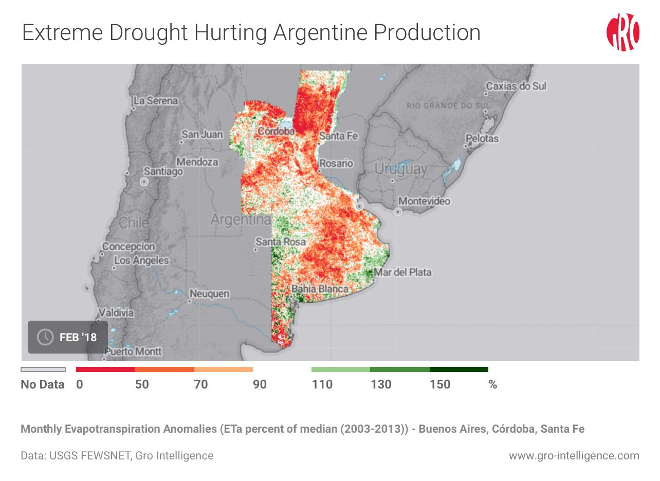 Historic Argentine Drought Shakes Grain Markets | Gro