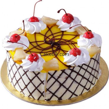 Luscious Pineapple Cake