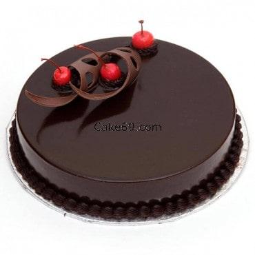 Chocolate  Curve Cake